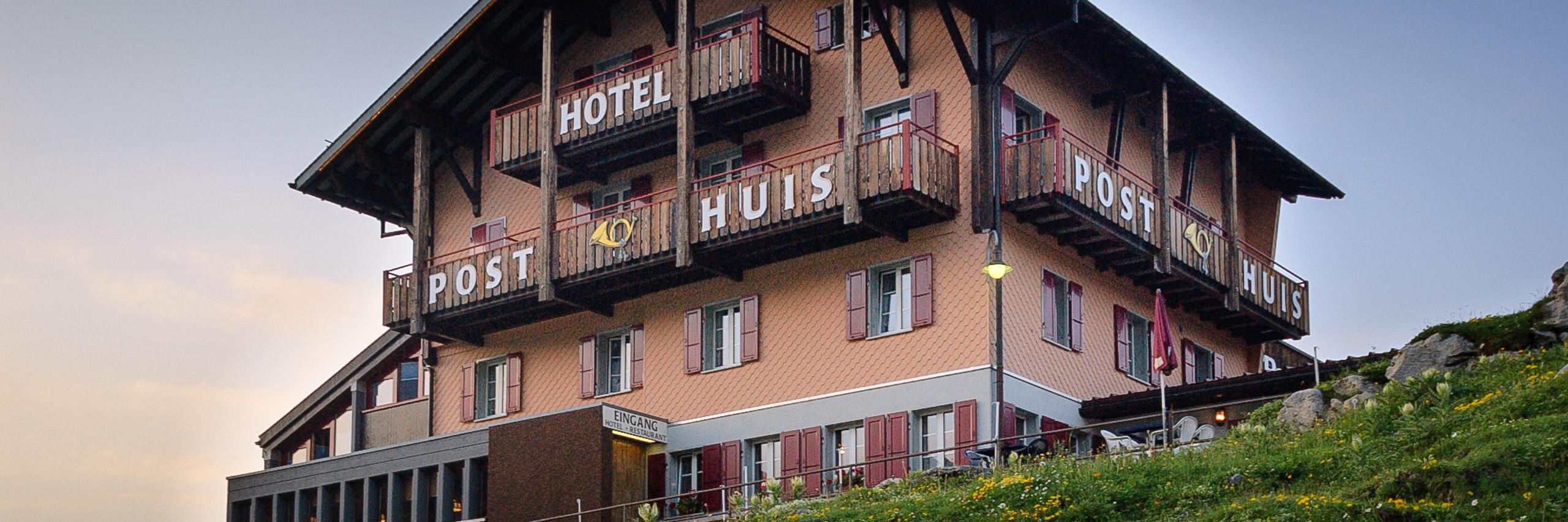 Hotel Posthuis, Melchsee-Frutt